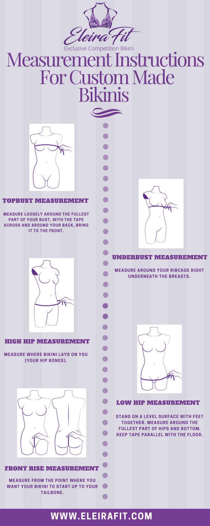 How to Take Measurements for Custom Bikinis