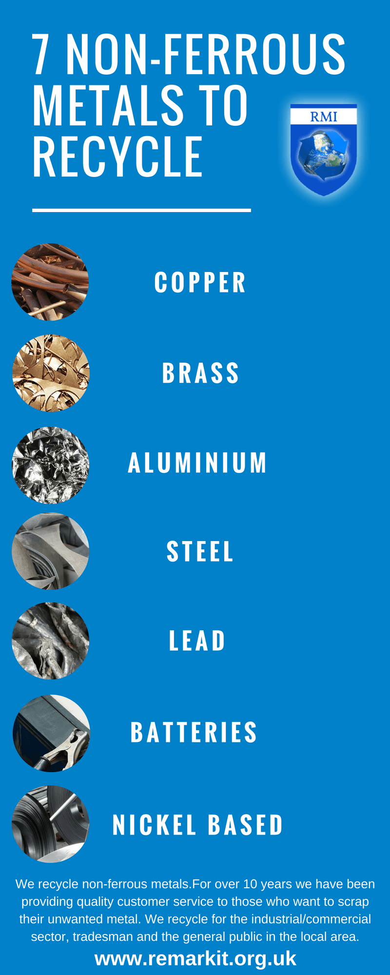 7 Non-ferrous Metals you can Recycle
