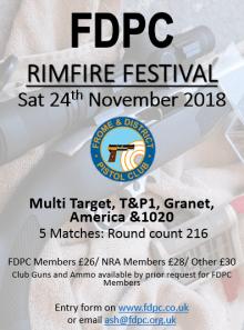 FDPC -Rimfire Fest