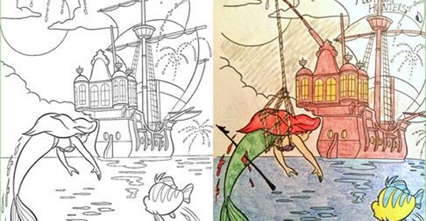 If Youre Not Shocked By These Coloring Book Corruptions As Warped The Poor Disney Characters