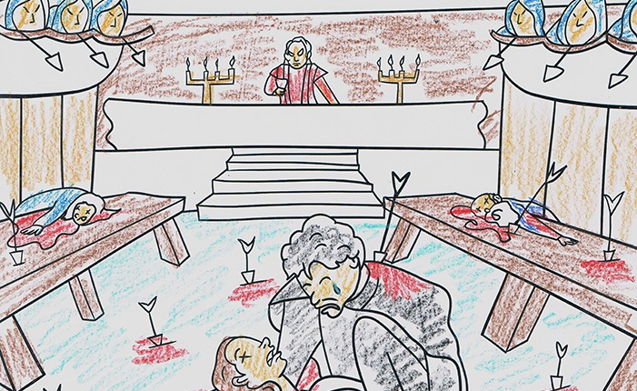 Artist Imagines Pages For George RR Martins Actual Upcoming Adult Game Of Thrones Coloring Book