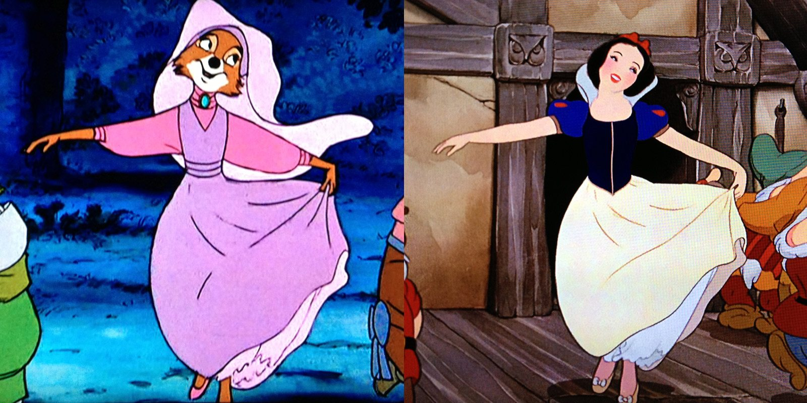 See How Disney Recycled Old Footage In It S Classic