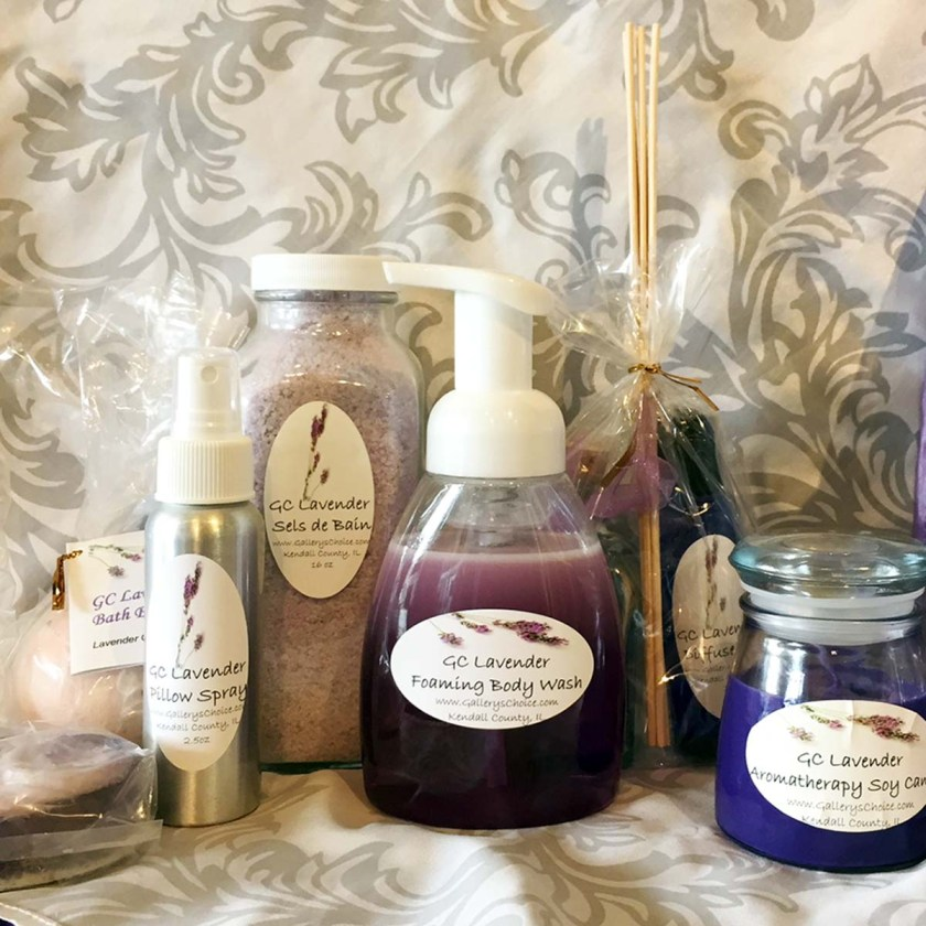 """Relaxing Bath"" GC Lavender Gift Set"