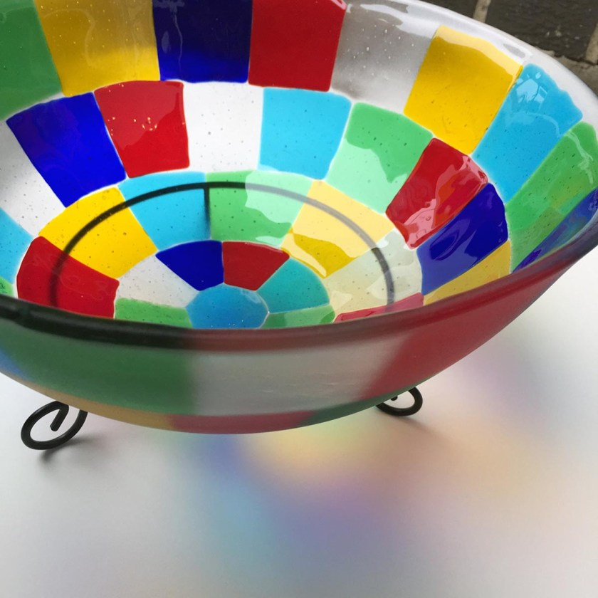 Art and Home Decor Fused Bowl