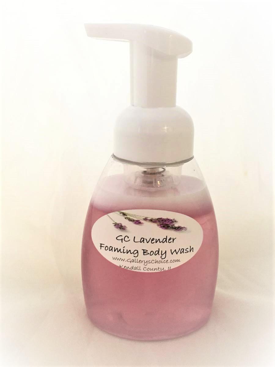 GC Lavender Foaming Body Wash