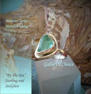 Sea Glass Variation of Metalsmithing class