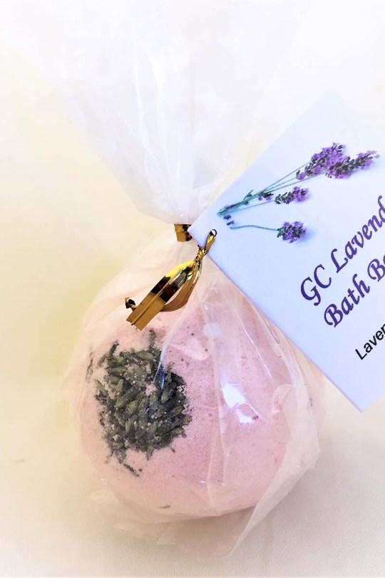 GC Lavender Grapefruit Bath Bomb