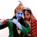 English Hindus at Janmashtami festival-Watford_England_1993