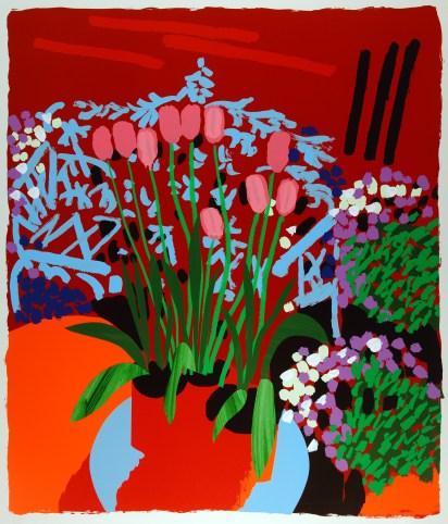 Bruce McLean 'Tall Dutch Tulips'