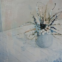 Jane Skingley 'Border Flowers, White Cloth