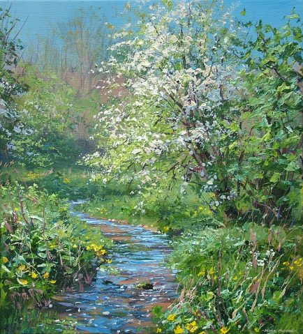 Mayblossom, Monk's Dale 20x18-2