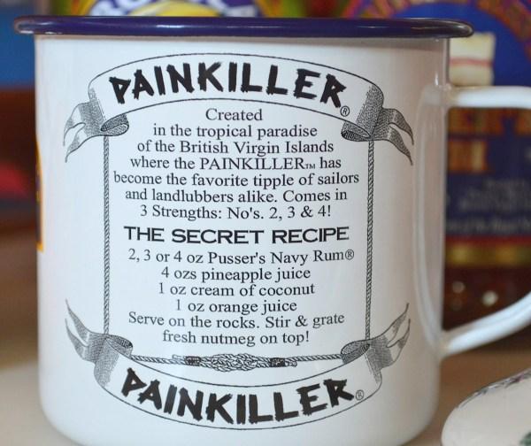 Pusser's pain killer recipe