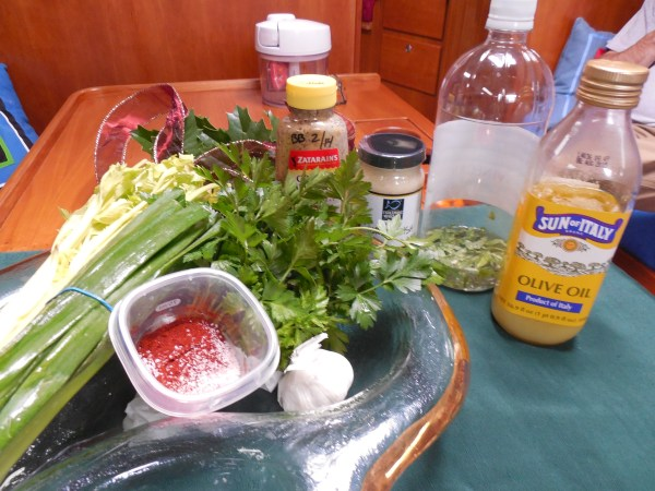 Remoulade ingredients 2