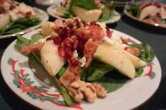 Spinach, Pear & Gorgonzola Salad