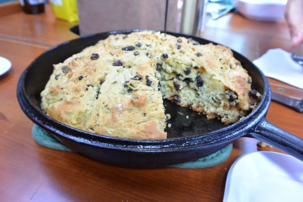soda bread served