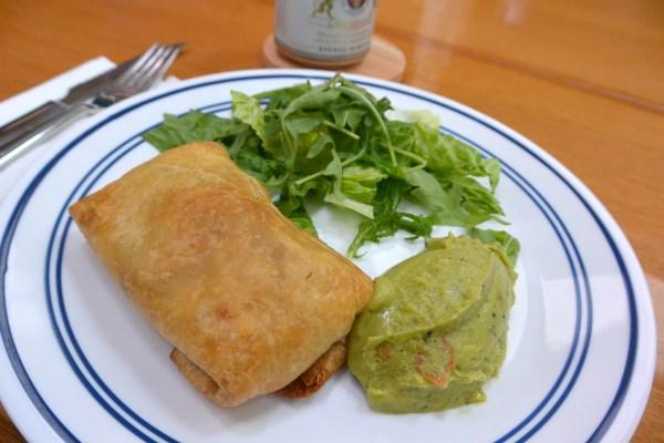 chimichanga served