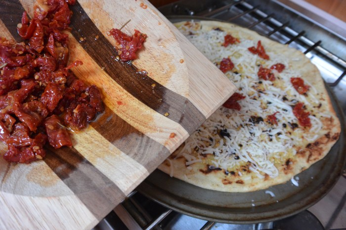 add chopped sun dried tomatoes