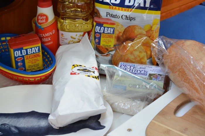catfish po boy ingredients
