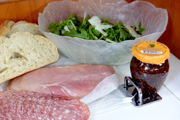 prosciutto sandwich ingredients