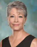 A pretty image of Lisë Stewart, board chair