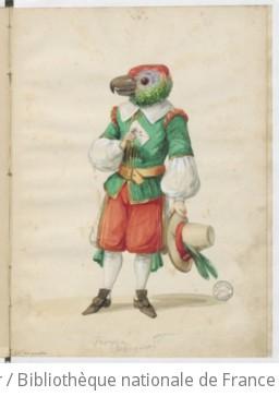 [Album comique : caricatures théâtrales et animalières / dessins de E. Bourdillat]