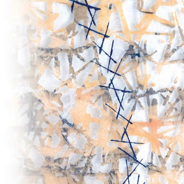 Paper and Metal Leaf Lamination - Claire Benn, Jane Dunnewold & Leslie Morgan