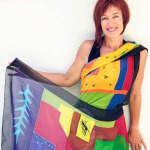 Silk Painting for Wearable Art