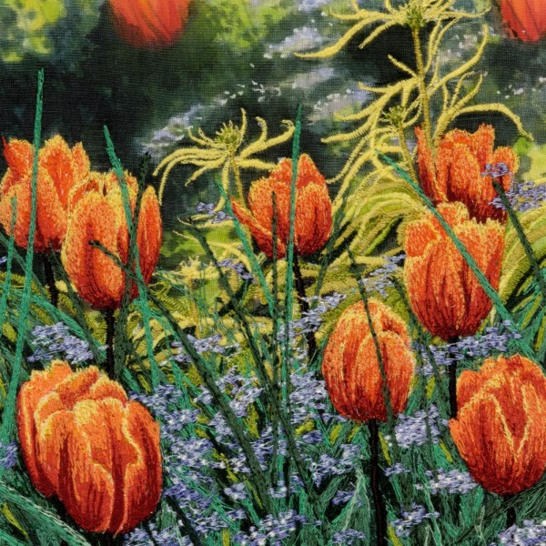 Creating Machine Embroidery with Alison Holt - Flowers & Landscapes