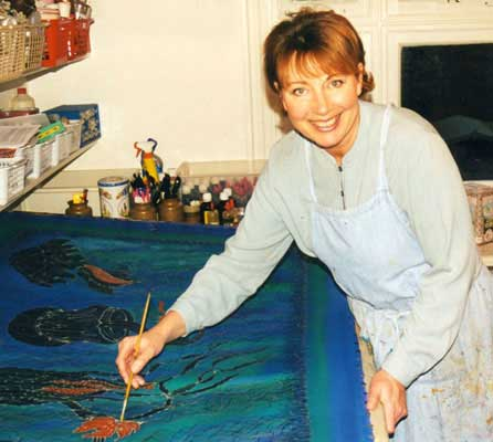 Silk Painting With Jill Kennedy Artist