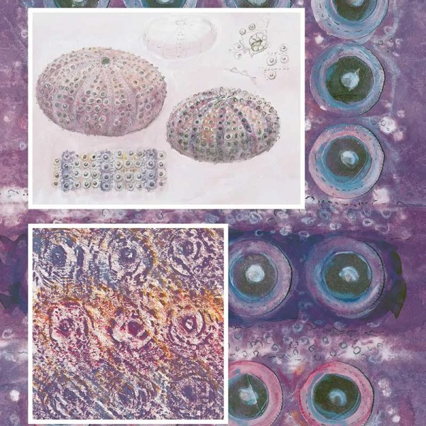 """Color Theory Sketchbook Image from """"Interpretations: Look, Record, Draw"""" featuring Jan Beaney & Jean Littlejohn"""