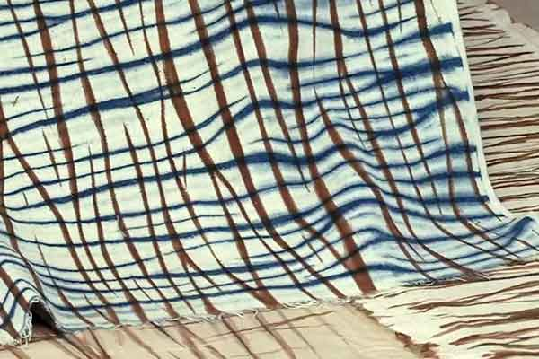 Kakishibu Persimmon Tannin Shibori Paper Fabric Analisa Hedstrom 06