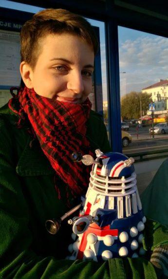 Gingerstorm i Wędrujący Dalek