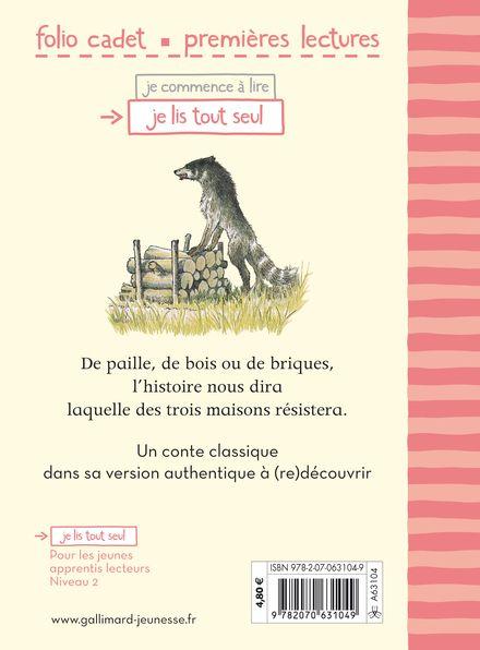 L Histoire Des Trois Petits Cochons : histoire, trois, petits, cochons, Livre, Véritable, Histoire, Trois, Petits, Cochons, Gallimard, Jeunesse