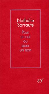 Pour Un Oui Pour Un Non : Série, Littérature, GALLIMARD, Gallimard