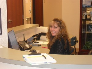 Dr. Gallimore's Office Manager - Kathy