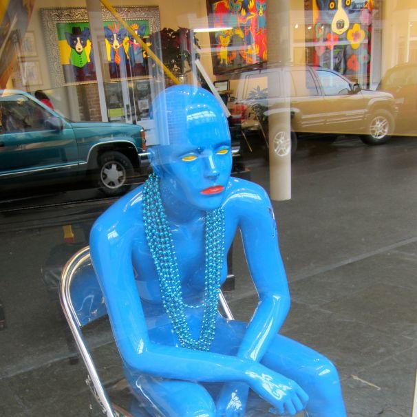 Blue Woman 2