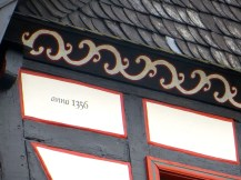 Painted Eaves with Date