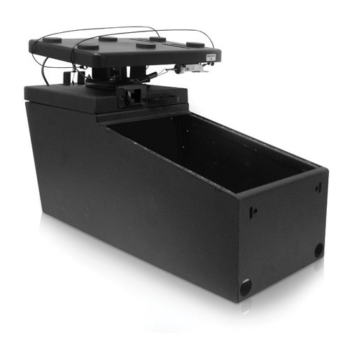 Jotto Desk Ak12 Console With Smooth Glide Computer Mount