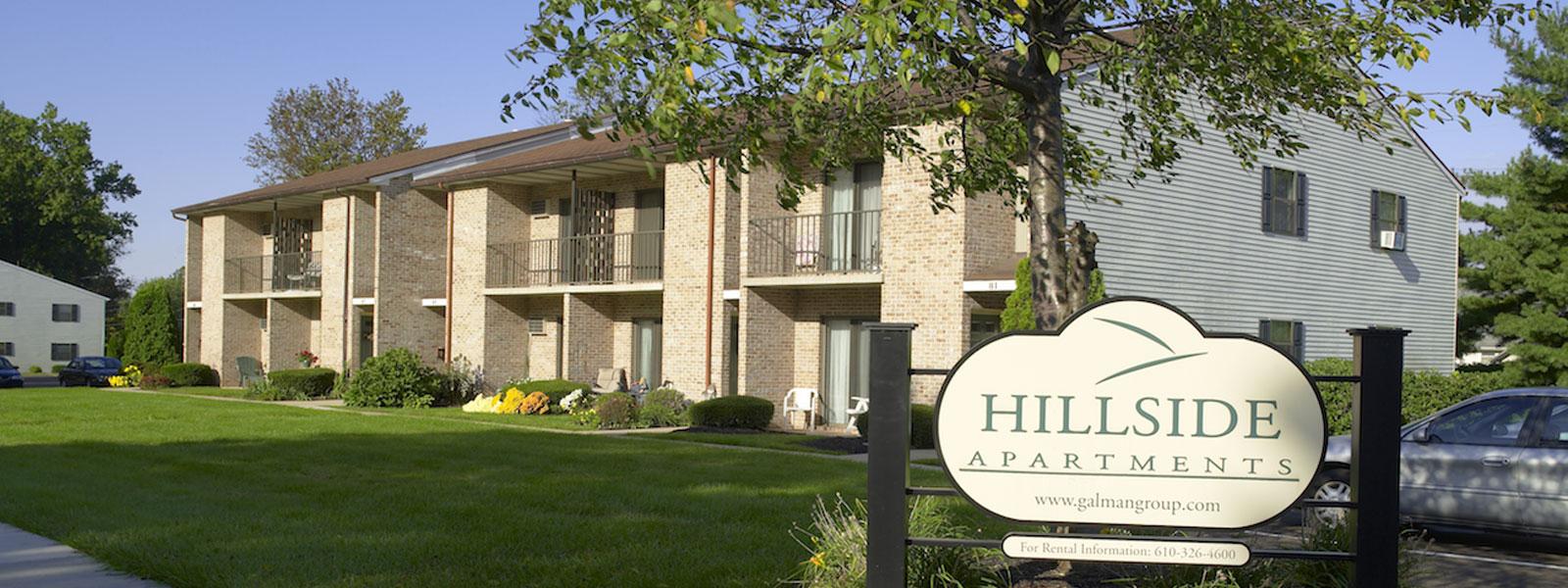 Pottstown & Stowe Apartments  Hillside Apartments  The