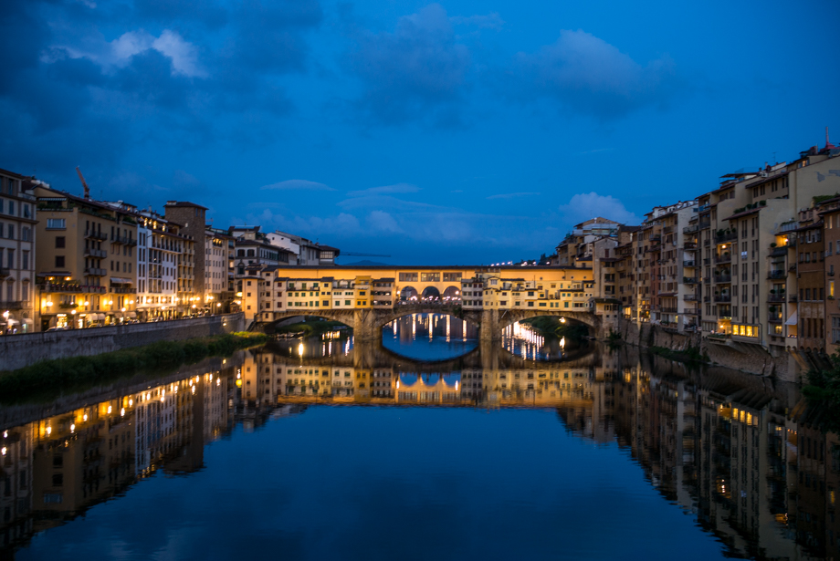 Evening Stroll Along The Ponte Vecchio  Gal Meets Glam