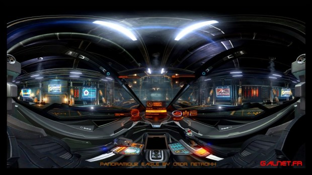 eagle panoramique Elite Dangerous by NetRoXx