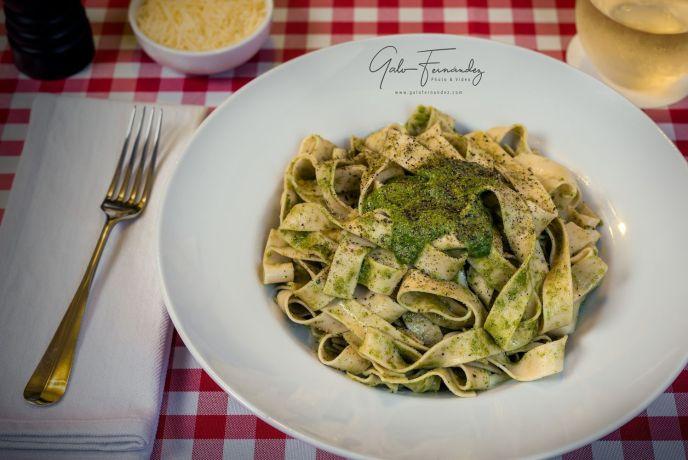 Tallarines al Pesto
