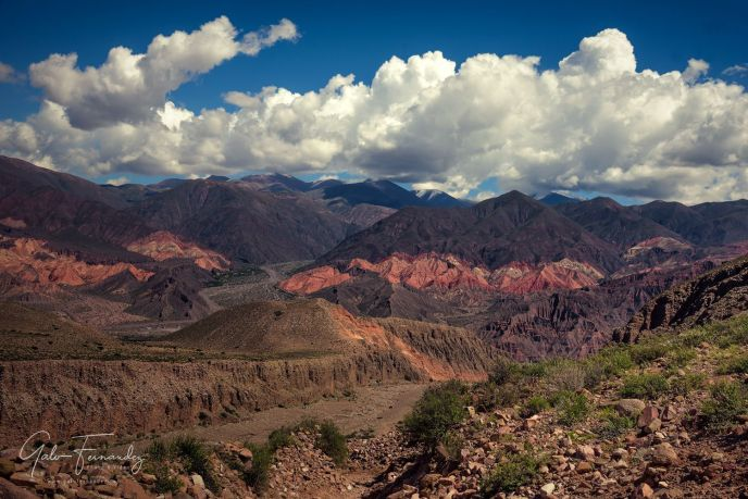 Tilcara, Vista Panorámica de los Cerros - JJ
