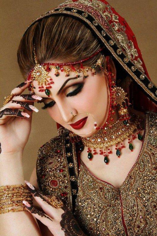 Red Makeup Face Best Indian Bridal Makeup Tutorial Step By Step