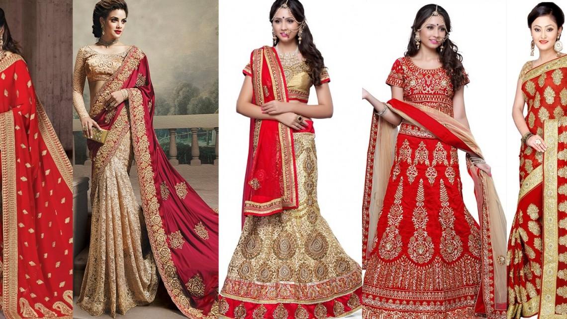 Latest Designer Indian Bridal Dresses 2017-18 Wedding