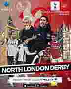 Pasaran Liga Inggris : pasaran, inggris, Jadwal, Inggris, Pekan, Ke-11:, Match, Tottenham, Arsenal