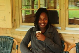Gamu (Zimbabwe) is a freelancer and is the only one in the class who stays at RNTC until August. Envy!