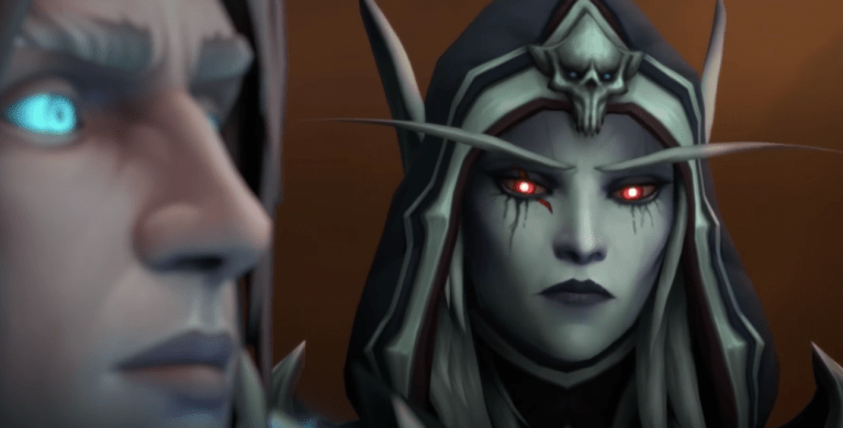 Sylvanas side-eyes possessed Anduin