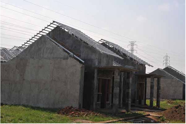 menghitung kebutuhan baja ringan atap jurai cara galvalum untuk pelana dan
