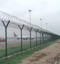 Perimeter Fence Used For Airport, Garden, Life-area or ...